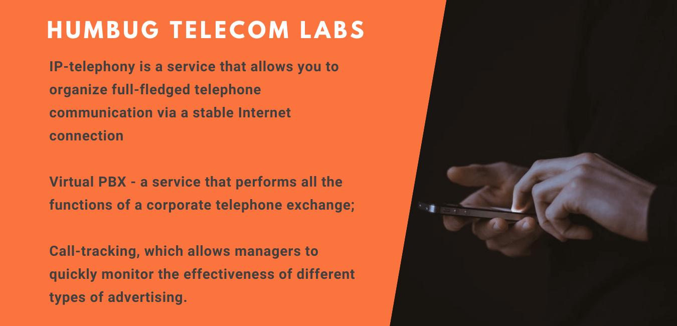 HUMBUG-telecom-LABS